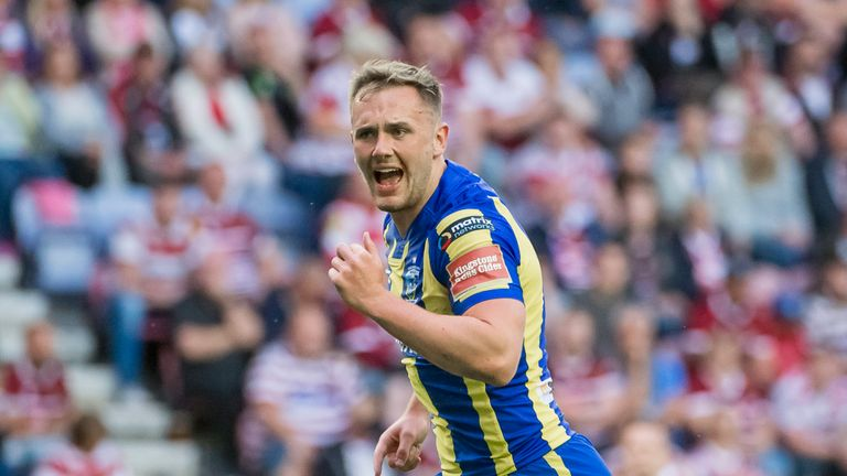 Warrington forward Ben Currie is also in the 24-man squad