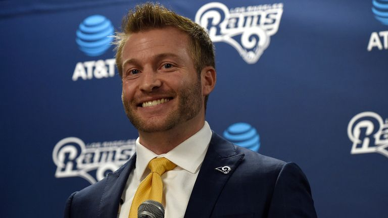 Los Angeles Rams head coach Sean McVay is ready to give a fresh approach
