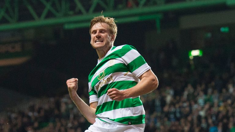 Stuart Armstrong scored in the 2-0 win