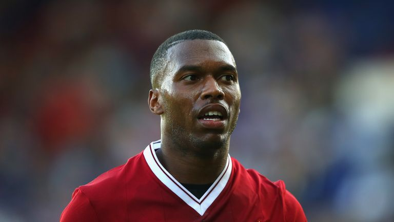BIRKENHEAD, ENGLAND - JULY 12:  Daniel Sturridge of Liverpool during a pre-season friendly match between Tranmere Rovers and Liverpool at Prenton Park on J