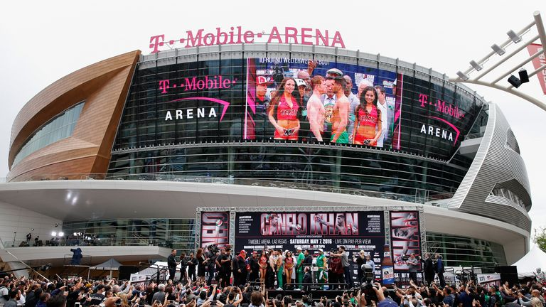 The T-Mobile Arena has already become a preferred venue for boxing events