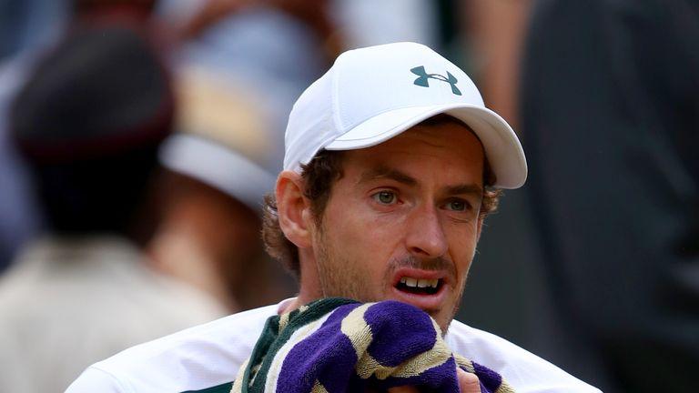 Murray's hip caused him discomfort in his quarter-final defeat against Sam Querrey