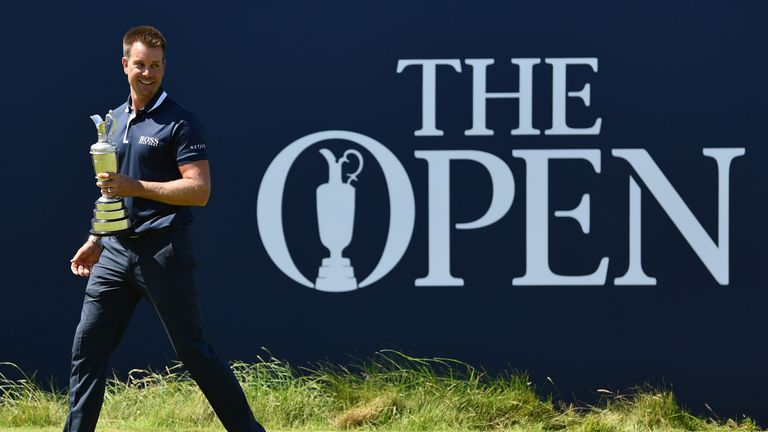 Henrik Stenson edged out Phil Mickelson in a thrilling duel in the first Open on Sky Sports in 2016