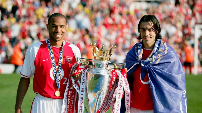 Arsenal's best home season under Wenger was in 2003/04 when they won the title