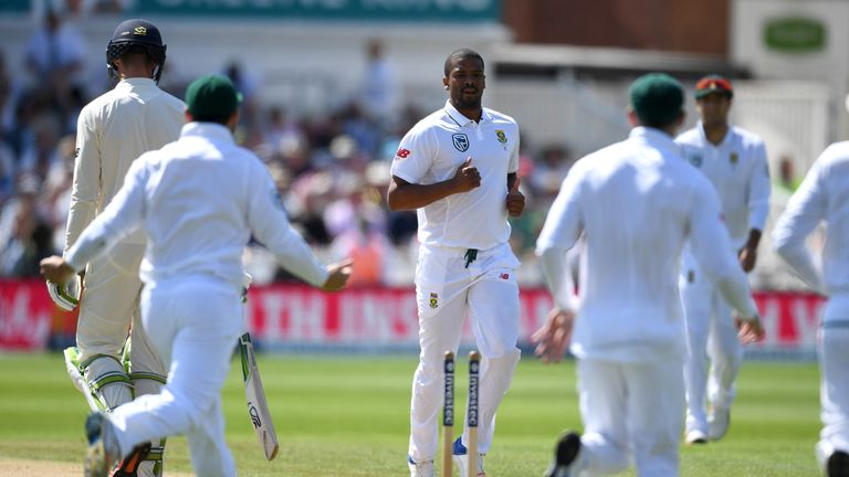 Vernon Philander got South Africa up and running with a brilliant opening burst