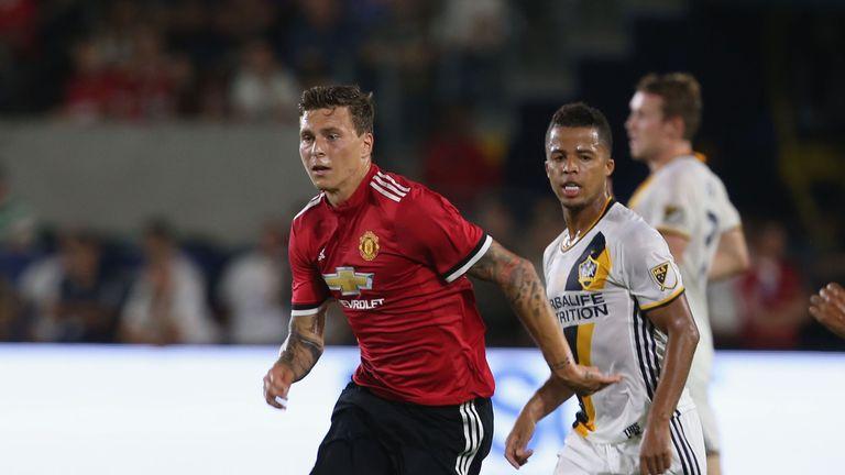 Victor Lindelof se unió al Manchester United a principios de este verano