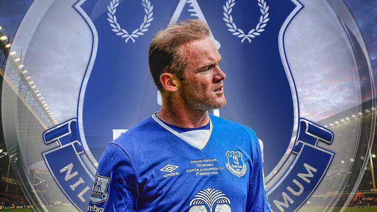 Wayne Rooney has returned to Everton
