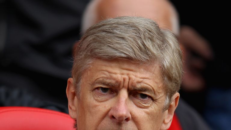 Arsene Wenger signed a new two-year deal back in May