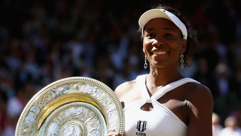Venus' last Grand Slam title came in 2008 at Wimbledon