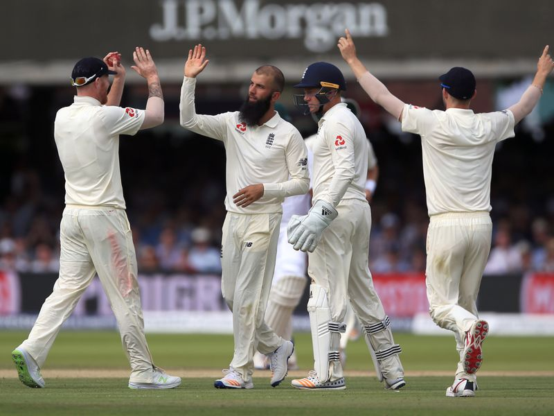 Moeen Ali ran through the Proteas' batting line-up