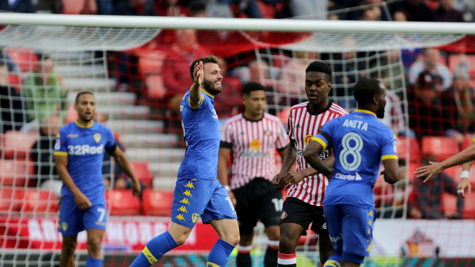 S'land 0 - 2 Leeds - Match Report & Highlights
