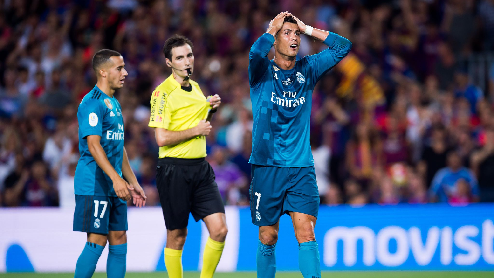 competitive price 56d1a 81251 Cristiano Ronaldo handed five-match ban for red card against ...