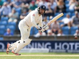 Mark Stoneman scored his maiden Test fifty for England