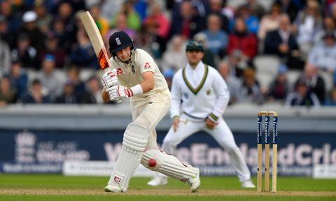 Joe Root made 52 on the opening day in Manchester