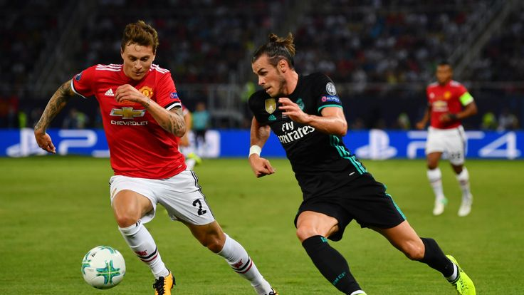 Gareth Bale in action in the UEFA Super Cup final