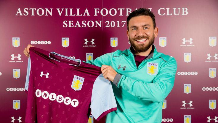 Aston Villa unveil new signing Robert Snodgrass