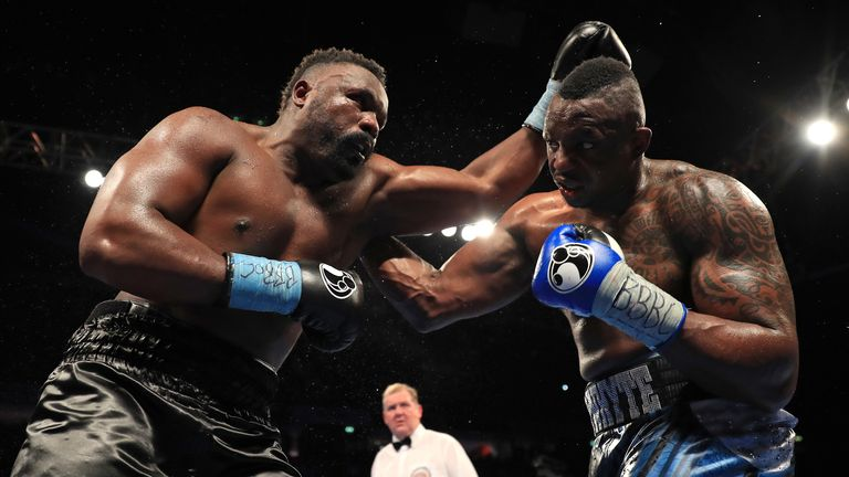 Chisora lost to bitter foe Whyte after an epic battle in London