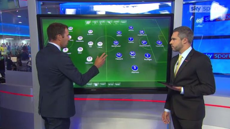 Danny Higginbotham analyses Chelsea's away fixture against Tottenham on Sunday