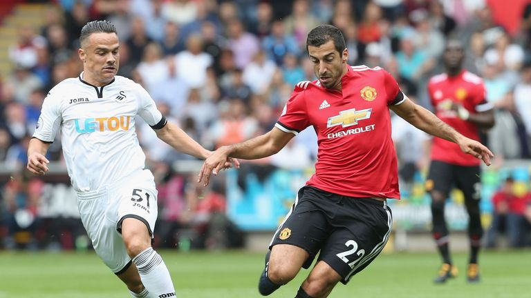 Mkhitaryan has produced four assists in two games so far this season