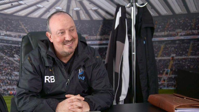 Newcastle United manager Rafael Benitez [Credit: Martin Hardy, author of Rafa's Way]