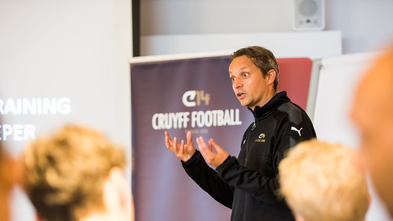 Jongkind remains committed to sharing Cruyff's vision with the world
