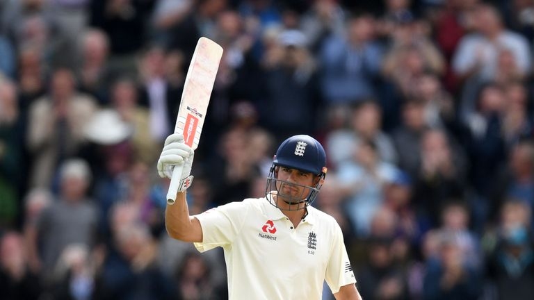 Cook's epic saw England total 514-8 declared in Birmingham