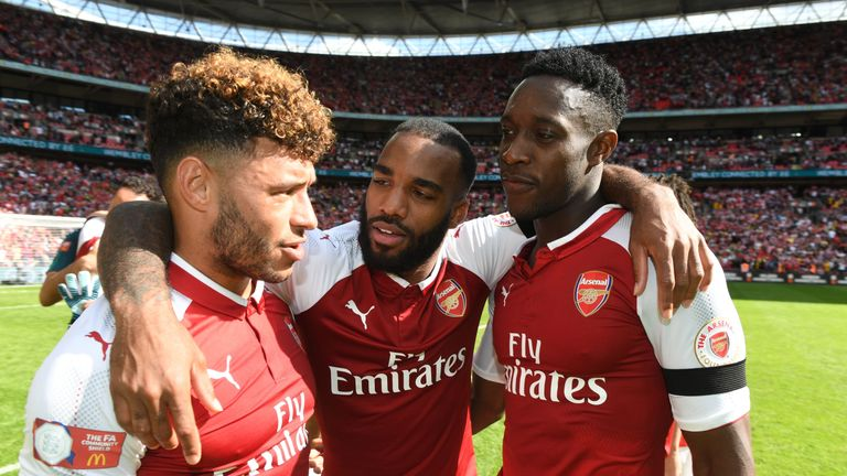 Alex Oxlade-Chamberlain started Arsenal's Community Shield win over Chelsea