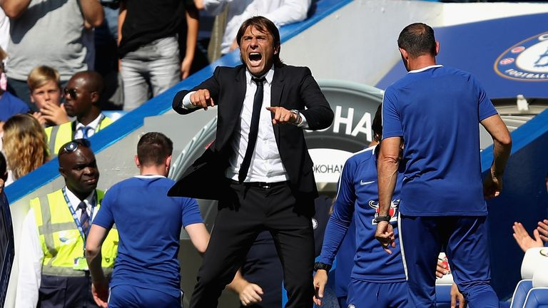 Antonio Conte didn't get in all the targets he wanted this summer