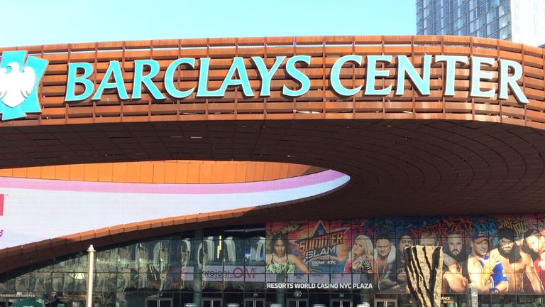 The Barclays Center has staged bouts for some of America's best boxers