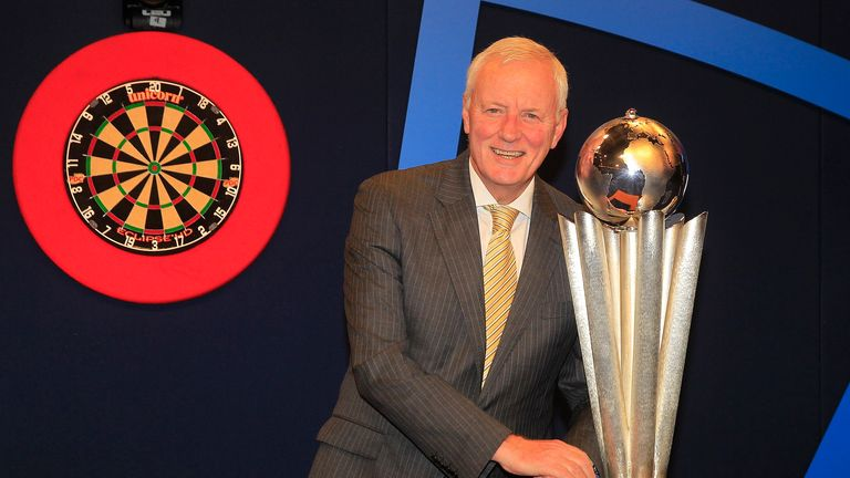 PDC Chairman Barry Hearn unveiled the biggest change to the World Darts Championship in years