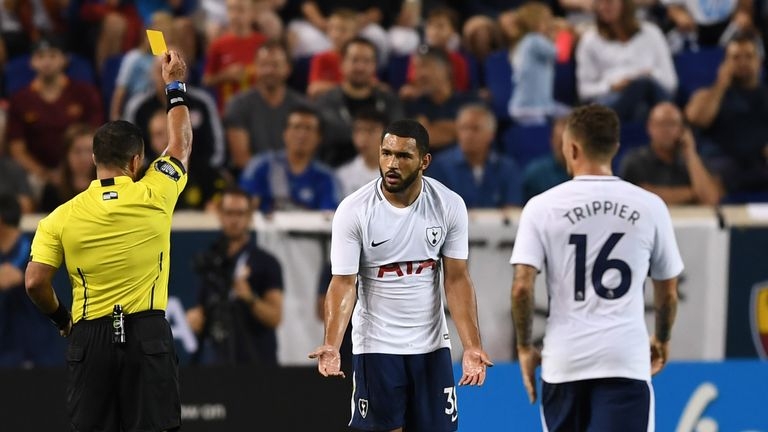 Cameron Carter-Vickers joined Ipswich on loan from Tottenham earlier this month