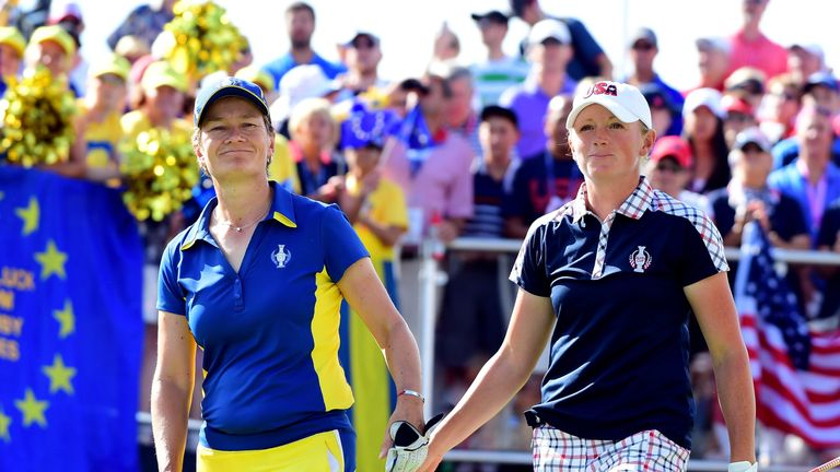 Catriona Matthew stunned Stacy Lewis after being three down