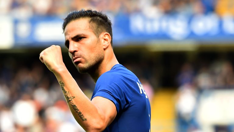 Fabregas was an integral part of Chelsea's title-winning campaign last season