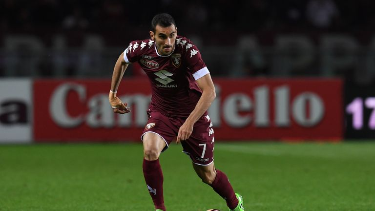 TURIN, ITALY - APRIL 29:  Davide Zappacosta of FC Torino in action during the Serie A match between FC Torino and UC Sampdoria at Stadio Olimpico di Torino