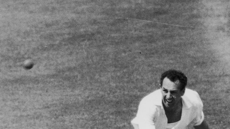 Don Shepherd took 2,218 wickets for Glamorgan in 668 first-class games