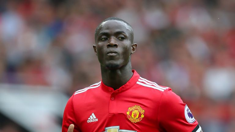 Eric Bailly has not played for Manchester United since November 5
