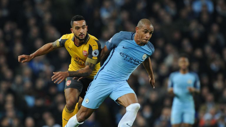 Fernando played in just 14 Premier League games for Manchester City last season