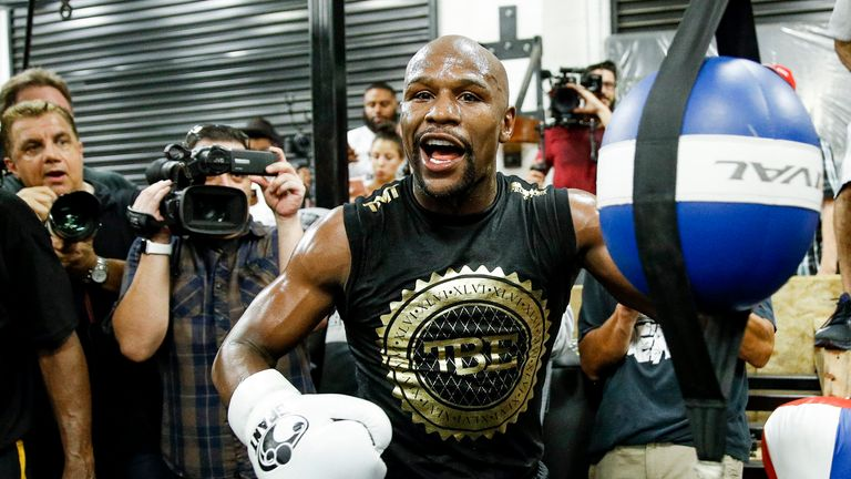 Mayweather has been sharpening his skills for a 50th fight