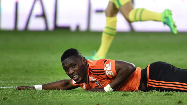 Waris has spent two years at Lorient