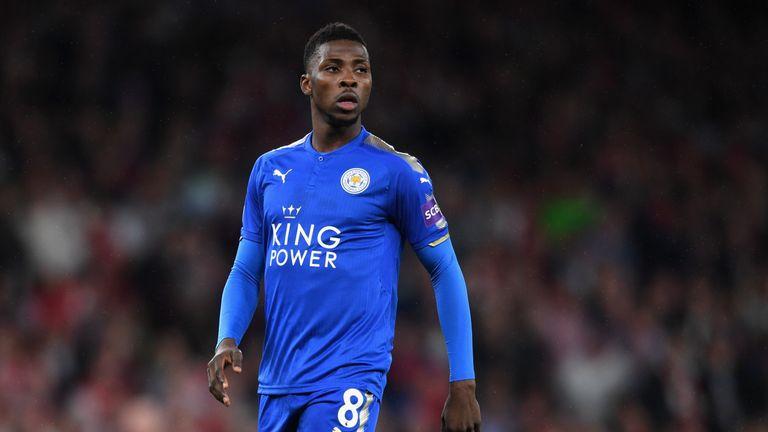 Leicester striker Kelechi Iheanacho