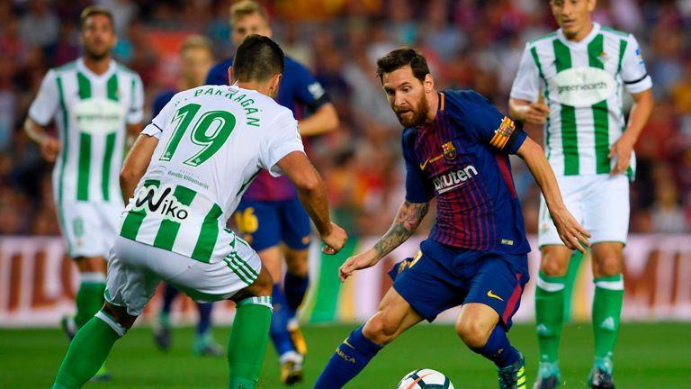 Lionel Messi, Barcelona v Real Betis, La Liga