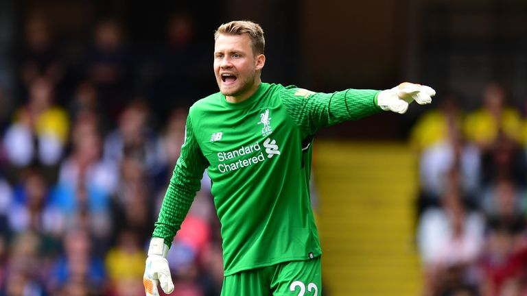 Simon Mignolet has lost his first-team place to Loris Karius