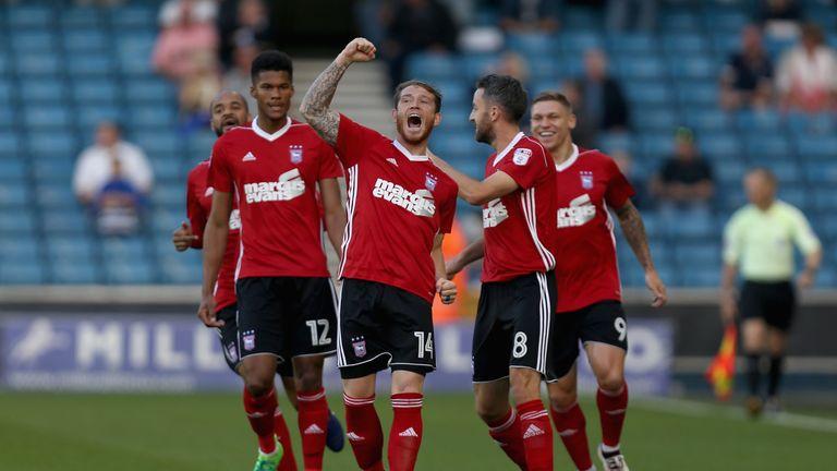 Joe Garner has impressed so far since joining Ipswich