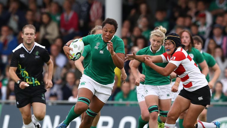 Host nation Ireland survived a scare against Japan
