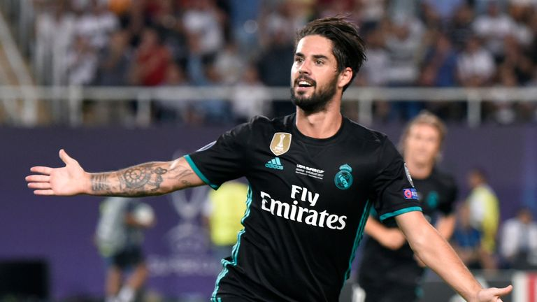 Isco has performed superbly for the past year