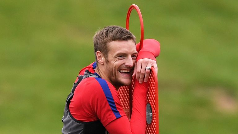 Jamie Vardy insists he is not just a back-up for Harry Kane while on international duty with England