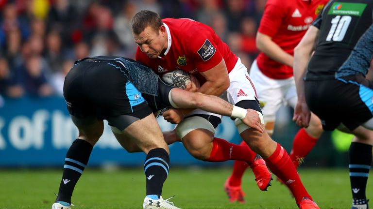 New Ulster signing Jean Deysel illustrated his power and breakdown ability last season with Munster