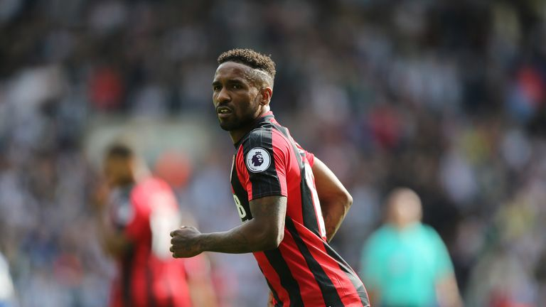 Jermain Defoe has goalscoring form against the Gunners