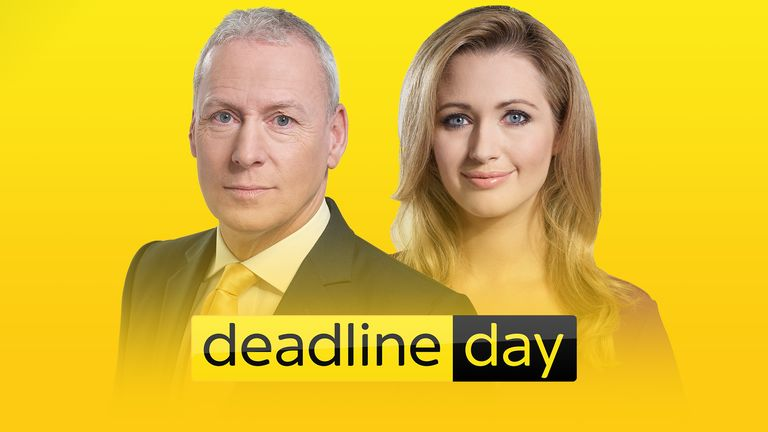 Join Jim White and Hayley McQueen for live coverage of the final hour of Deadline Day!