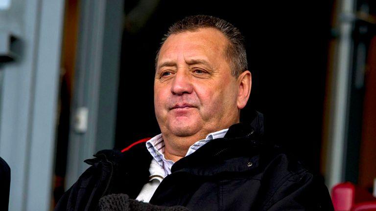 Calderwood's last job was in Holland with De Graafschap in early 2014